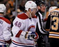 Andrei Kostitsyn Montreal Canadiens Immagine Stock Libera da Diritti