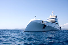 Andrei Melnichenko super yacht Stock Photo