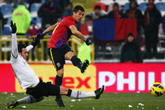 FC Steaua Bucharest- FC Astra Giurgiu Stock Images