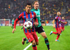 Andrei Prepelita during UEFA Champions League game Stock Photography