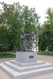 Andrei Rublev sculpture Stock Image