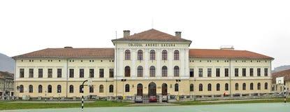 Andrei-saguna College stockbilder