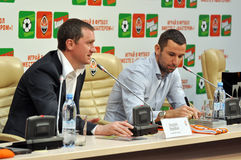 Andrei Vorobei and Dario Srna Royalty Free Stock Images