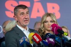 Andrej Babis Zdjęcia Stock