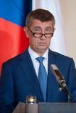 Andrej Babis Royalty-vrije Stock Afbeelding