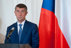 Andrej Babis Royalty Free Stock Images