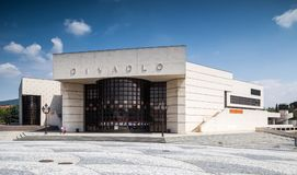 Andrej Bagar Theatre i Nitra Slovakien Royaltyfria Foton