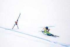 Andrej Jerman - Fis World Cup. Andrej Jerman (Slovenia) - Val Gardena Gröden, Italy - Super G - FIS Alpine Ski World Cup - 19 December 2008 Stock Images