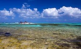 andres哥伦比亚海岛圣 库存照片