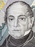Andres Bello portrait Royalty Free Stock Image