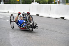 Andres Biga competes at the ParaPan Am Games - Toronto August 8, 2015 Stock Photography