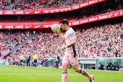 Andres Fernandez. Of Granada CF in the match between Athletic Bilbao and Granada, celebrated on April 3, 2016 in Bilbao, Spain Royalty Free Stock Images