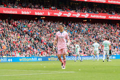 Andres Fernandez. Of Granada CF in the match between Athletic Bilbao and Granada, celebrated on April 3, 2016 in Bilbao, Spain Stock Photography