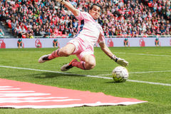 Andres Fernandez. Of Granada CF in the match between Athletic Bilbao and Granada, celebrated on April 3, 2016 in Bilbao, Spain Stock Image