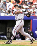 Andres Galarraga, Atlanta Braves photo libre de droits