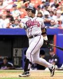 Andres Galarraga, Atlanta Braves photographie stock libre de droits