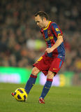 Andres Iniesta of Barcelona Royalty Free Stock Image