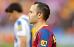 Andres Iniesta of FC Barcelona Royalty Free Stock Image