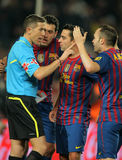 Andres Iniesta of FC Barcelona Royalty Free Stock Photo