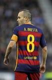 Andres Iniesta of FC Barcelona Stock Photos