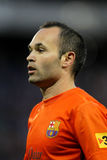 Andres Iniesta of FC Barcelona Stock Photography