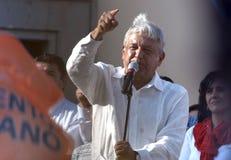 Andres Manuel Lopez Obrador Photos stock