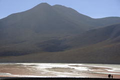 Andres mountains in Bolivia Royalty Free Stock Photography