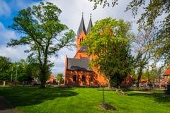 Andrew Bobola Church in Swiecie polen lizenzfreie stockfotos
