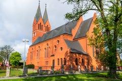 Andrew Bobola Church in Swiecie polen lizenzfreies stockbild