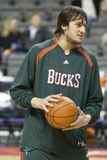 Andrew Bogut of the Milwaukee Bucks Royalty Free Stock Images