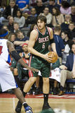 Andrew Bogut of the Milwaukee Bucks Royalty Free Stock Photo