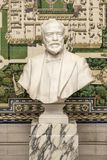 Andrew Carnegie bust at the Peace Palace