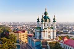 Andrew& x27; chiesa di s Kiev, Ucraina Kyiv, Ucraina Immagini Stock