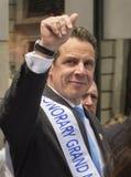 Andrew Cuomo på New York 2015 firar Israel Parade Arkivfoton