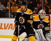 Andrew Ference, Boston Bruins Photo libre de droits