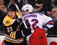 Andrew Ference Boston Bruins Stock Photography