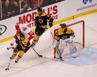 Andrew Ference, Boston Bruins-Verteidiger stockfotografie