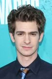 Andrew Garfield at the 2012 MTV Movie Awards Arrivals, Gibson Amphitheater, Universal City, CA 06-03-12. Andrew Garfield  at the 2012 MTV Movie Awards Arrivals Royalty Free Stock Photo