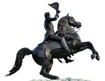 Andrew Jackson ・杰克逊方形新的Orlean雕象  免版税库存图片