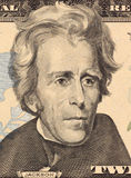 Andrew Jackson. On 20 Dollars 2006 Banknote from U.S.A. Seventh president of the United States (1829-1837 Stock Photography