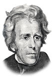 Andrew Jackson lizenzfreie abbildung