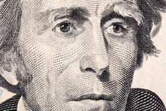 Andrew Jackson a close-up portrait Royalty Free Stock Image