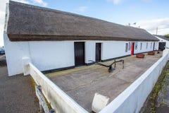 Andrew Jackson Cottage. Co. Antrim, N. Ireland/United Kingdom - Andrew Jackson`s childhood home in the village of Boneybefore on the Northern Irish coast. Here stock photography