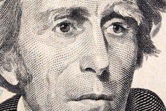 Andrew Jackson ein Nahaufnahmeporträt lizenzfreies stockbild