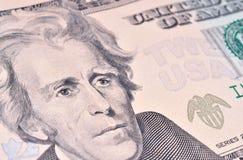 Andrew Jackson Engraving royalty free stock photos