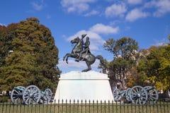 Andrew Jackson in het Park van Lafayette royalty-vrije stock afbeelding