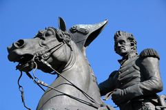Andrew Jackson Monument Royalty Free Stock Images