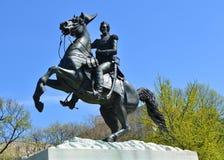 Andrew Jackson Monument, Washington DC Fotografia Stock