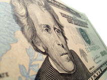 Andrew Jackson Portrait. Andrew jackson 20 dollar bill portrait Stock Photography