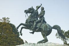 Andrew Jackson statue Royalty Free Stock Photo